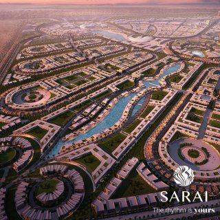 شقة تطل على لاند سكيب كمبوند سراي القاهرة الجديدة للبيع 126 م