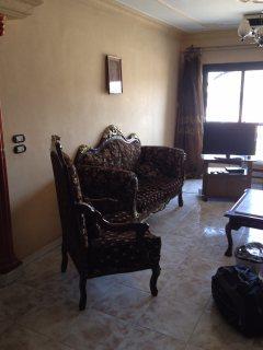 شقة مفروشة للايجاربجوار سيتي ستارز مول مدينة نصر