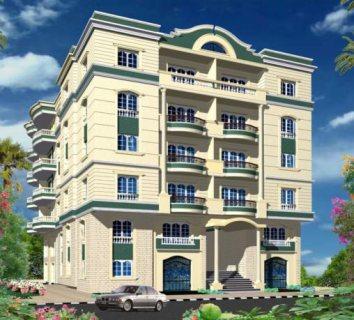 عماره للبيع والاستثمار بالحي الرابع الدور ع شقتين 324متر