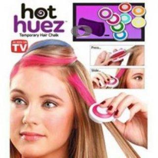 طباشير الشعر لتلوين الشعر بالوان رائعة hot huez