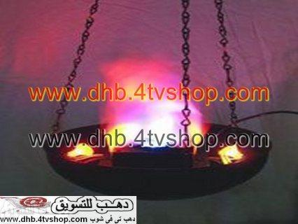شعلة نارية ديكورية بالكهرباء للزينة والديكور