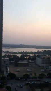 ـــ للجاديــــــن فقط واصحاب الذوق الراقى شقة واجهه على النيل بالمعادى ــــ