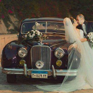 كلاسيك جاجوار 1951 للايجار للزفاف والتصوير