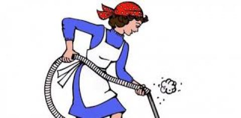عاملة نظافة مكاتب