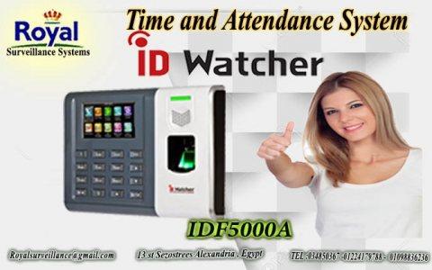 ماكينة حضور والانصراف ID WATCHER موديل IDF5000A