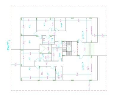 (( شقة دور ارضى بحديقة )) 3 غرف وريسبشن 3 قطع و2 حمام ومطبخ ( نصف تشطيب ) ـــ