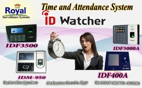 أحدث ساعات الحضور والانصراف ماركة ID WATCHER