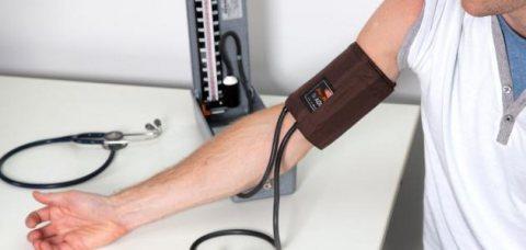 قياس ضغط الدم الزئبقى وسماعة طبيب