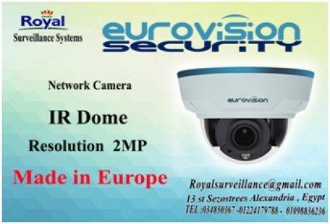 كاميرات مراقبة EUROVISION للمشروعات الكبرى