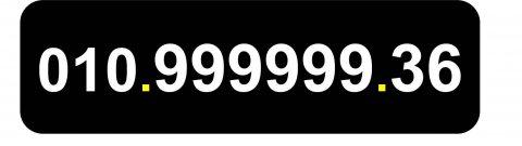 ارقام مصرية سداسية (تسعات) 010.999999.xy للبيع