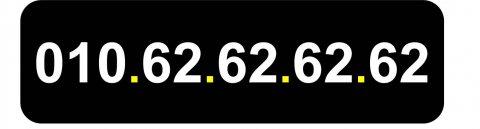 رقم مميز جدا (ثنائي) مصري للبيع 010.62.62.62.62
