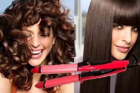 Nova 2 in 1 Hair Straightener