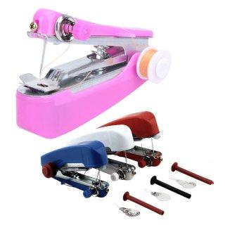 ماكينة الخياطة اليدويه المحموله سهله الاستخدام جدا لكل افراد الاسره