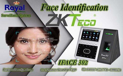 ماكينات حضور وانصراف ZKTeco موديل IFace 302