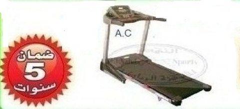 للجيمات مشاية كهربائية وزن 180 ك موتور A.C للياقة البدنية اجهزة رياضية