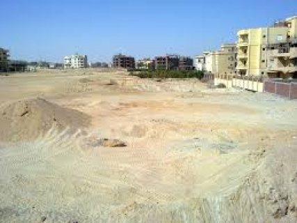 أرض  بامتداد التوسعات الشمالية بمدينة6 أكتوبر780م ع منطقة خضراء