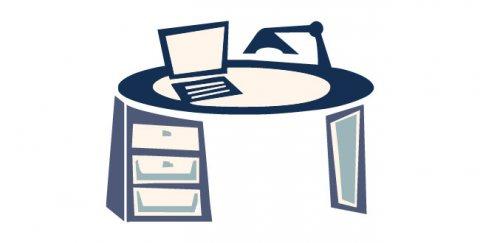 غرفة بمكتب للايجار