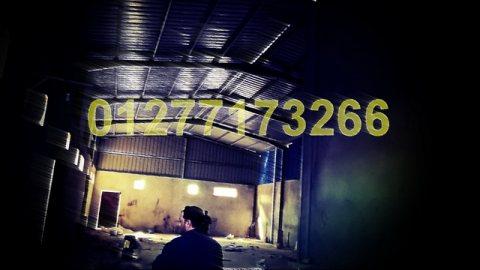 مصنع 615م2 للبيع  برج العرب الجديدة
