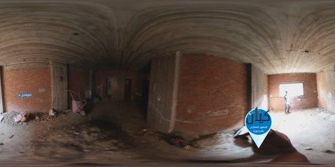 فيديو واقع افتراضي لـ شقة 165 متر للبيع في الزعفران في المنصورة 360°