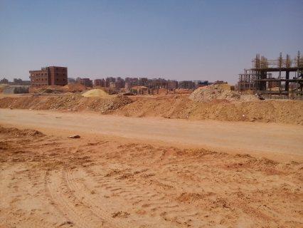 6اكتوبر_ارض _التوسعات الشمالية مساحة 740م دبل فيس على مساحة خضراء