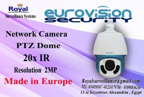 كاميرات مراقبة أنتاج أوروبى PTZ 20X للمشروعات الكبرى