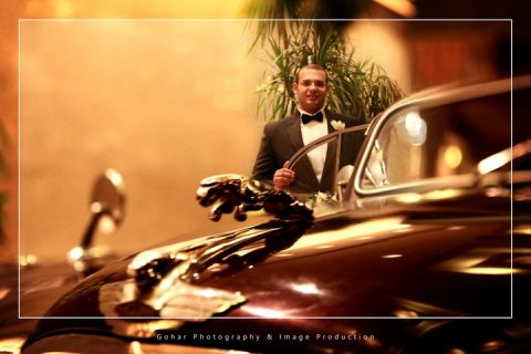 جاجوار الكلاسيكية للايجار في التصوير والزفاف فقط لدى كلاسيك ليموزين