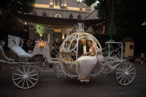 cinderlla carriage rental for wedding and saction
