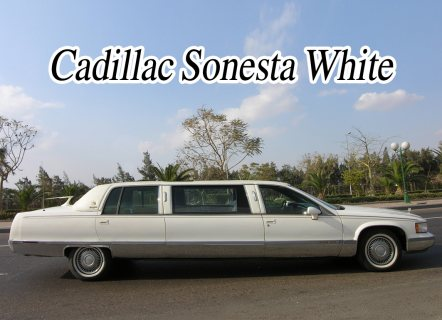 صور limousine cadillac rental for wedding 3