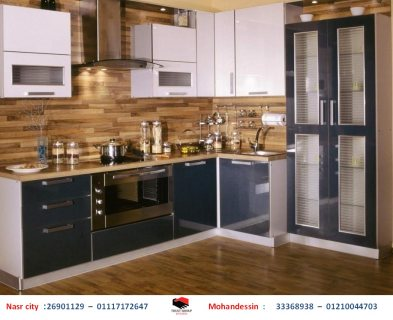 مطبخ  بي في سي  -  سعر مطابخ خشب فى مصر  ( للاتصال  01210044703)