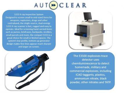 اجهزة X-Ray لكشف المعادن للحقائب