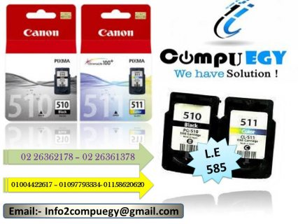 Cartage Canon Ink jet 510 &511