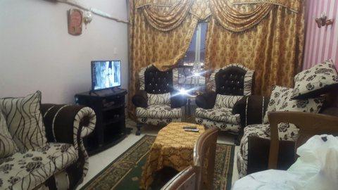 شقة مفروشة للايجار بشارع النزهة بجوار دار الدفاع الجوي مدينة نصر