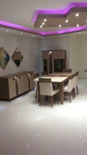 شقة مفروشة فندقية للإيجار اول سكن بشارع رئيسي من عباس العقاد
