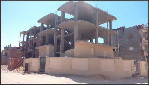 330م2 ناصيتين  برج العرب الجديدة