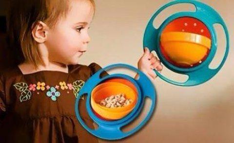 طبق الاطفال مانع الانسكاب