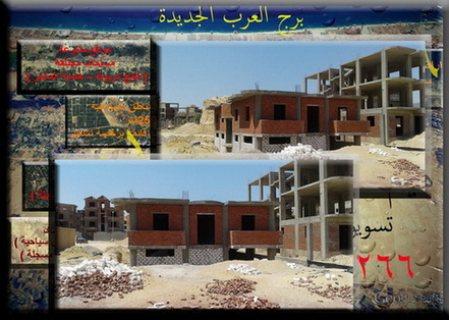جديد فيلا 450م2 ثلاث وجهات برج العرب الجديدة