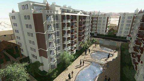 امتلك شقة بكموند متكامل الخدمات بمنطقة الاندلس بالقرب من ماونتن فيو