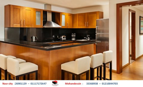 مطبخ بى فى سى - مطبخ اكريليك – مطبخ بولى لاك ( للاتصال 01210044703)