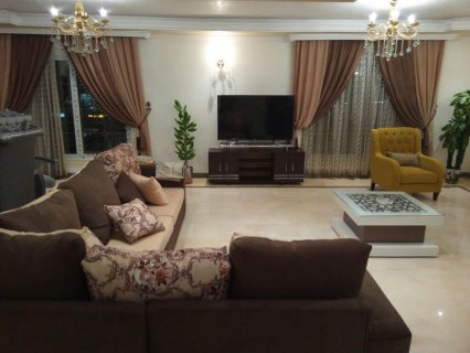 شقة مفروشة فندقية 330م للايجار بشارع احمد فخري+