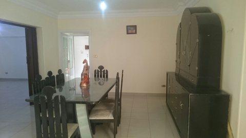 شقة مفروشة للايجار خلف مطعم ام حسن عباس العقاد مدينة نصر