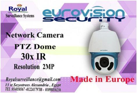 كاميرات مراقبة PTZ  30X أنتاج أوروبى للمشروعات الكبرى