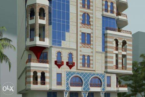 عماره البارون للسكن الفاخر المتميز بارض الجولف مصر الجديده