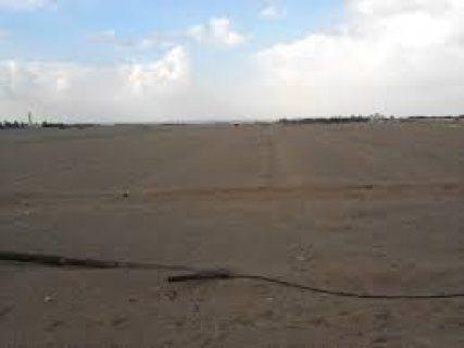 ارض 570م2 بالقرعه التكميليه قريبه من هضبه الهرم