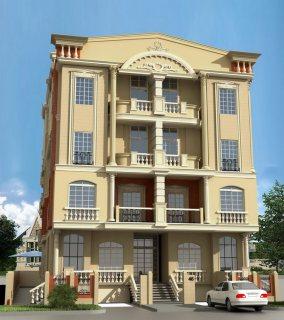 ــ ــ فى المنطقة الثامنة 3 غرف +2 ريسبشن + حمام ومطبخ للبيع