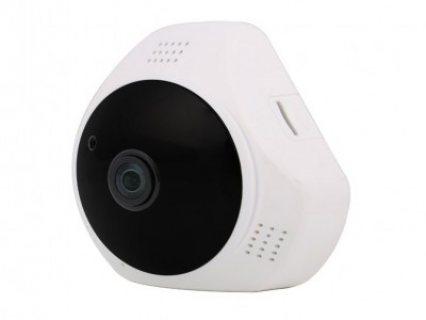 كاميرة مراقبة بانوراما 360 درجة (بمايك)