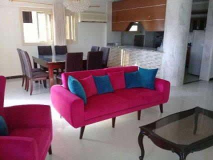 شقة مفروشة مودرن 3 غرف بمدينة الشيخ زايد
