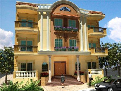 شقة تمليك بمدينة الشروق استلام فورى داخل حى فيلات مرموق