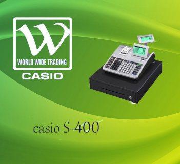 كاشير s400 (ماكينة كاشير اصلى + ضمان ) casio
