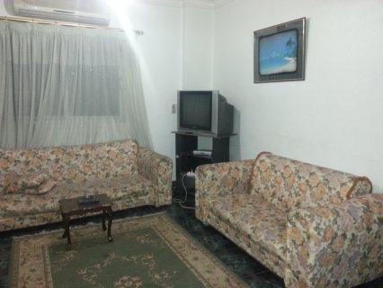 شقة مفروشة راقية للايجار بالمنطقة التامنة مدينة نصر قريبة من السراج مول