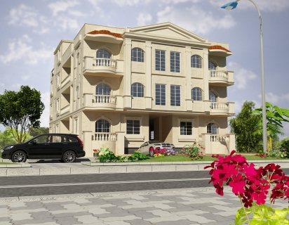 شقة للبيع في القاهرة الجديدة بحي القرنفل :